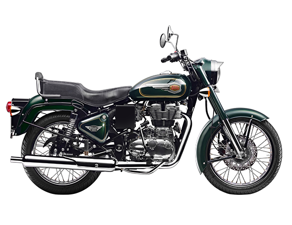 Royal Enfield Bullet 500 2017 - Forest Green