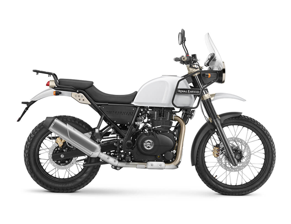 Royal Enfield Himalayan - Snow (White)